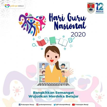 Selamat Hari Guru Nasional 2020