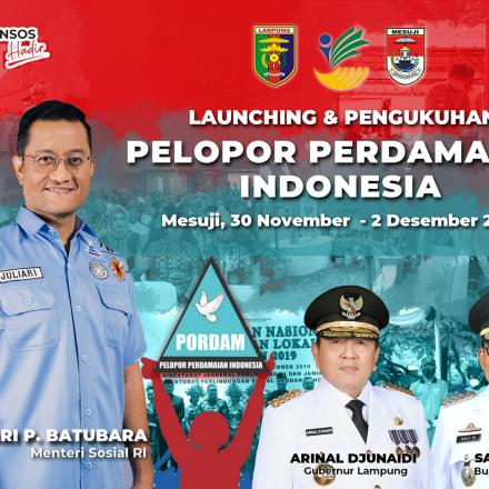 Launching dan Pengukuhan Pelopor Perdamaian Indonesia