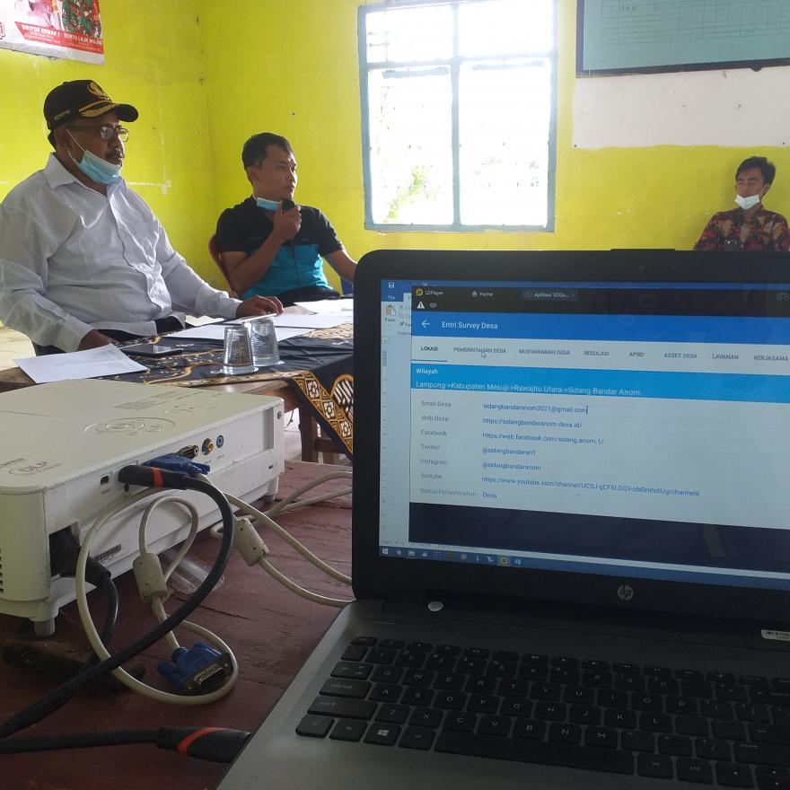 Pelatihan Relawan Pokja SDGs Desa Sidang Bandar Anom